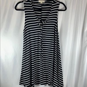 L.A. Hearts Striped Mini-Dress